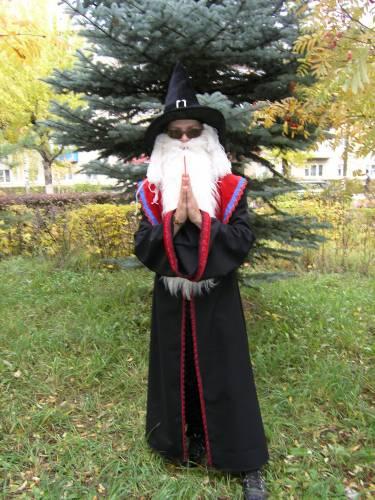 Как сделать костюм волшебника фото