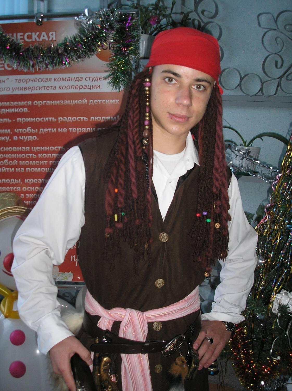 Новогодний костюм джека воробья своими руками